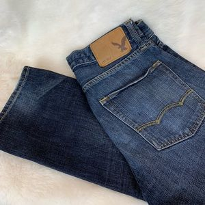 American Eagle slim straight jeans 28/30